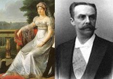 Laetizia Ramolino et Jean Paul Pierre Casimir-Perrier